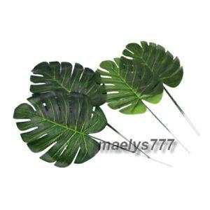 6 Tige feuille palmier artificielle décoration tropicale maison mariage baptême OjiDY8tb-07190958-614416351