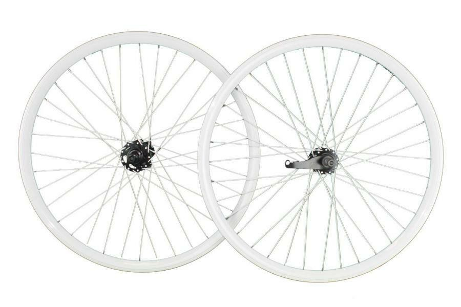 Coppia ruote 26x1,75 26x1,75 26x1,75 bianco con contropedale CNT26CBRBI RIDEWILL BIKE scatto fis d70d11