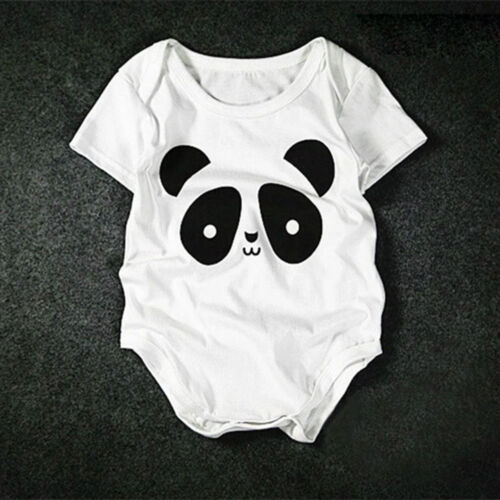 Baby Rompers Cotton Baby Clothes Baby Girl Clothes  Chinese Panda Cartoon