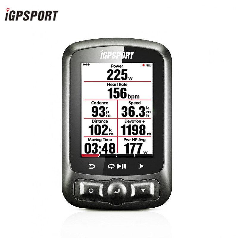 Igpsport iGS618 GPS Bike Computer Wireless Garanzia Regno Unito con grande schermo ANT
