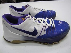 7ae750a425dc Youth Nike KD 8 PBJ 846228-100 Peanut Butter Jelly GS Durant Purple ...