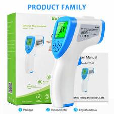 Ir Laser Temperature Gun Noncontact Digital Thermometer Body Temp Meter Handheld