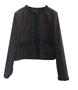 18 k Taille Marque Ex L Cheryl Tweed Jacket 05nRq6w
