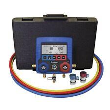 Mastercool 99872 A Digital R134a Ac Manifold Gauge Set With Vehicle Data