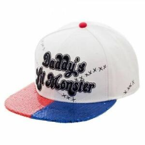 Suicide-Squad-Lil-Monster-Snapback-Cap-Genuine-AU-Stock