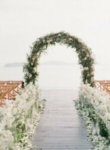 Wedding Arch Wedding Backdrop Wedding Archway Metal Wedding Arch