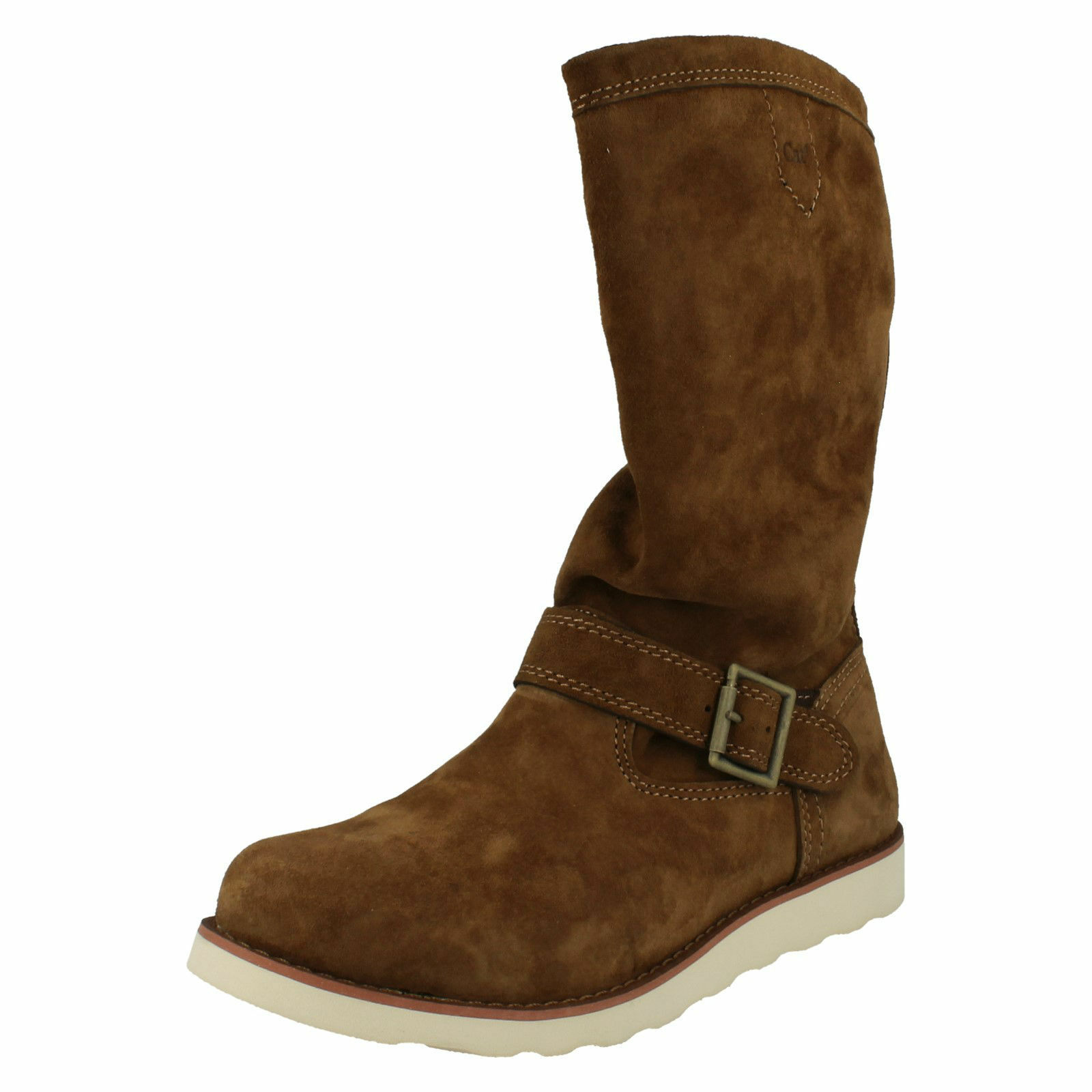 CATERPILLAR CLAUDETTE P305761 LADIES CASUAL PULL ON MID CALF LONG WINTER BOOTS