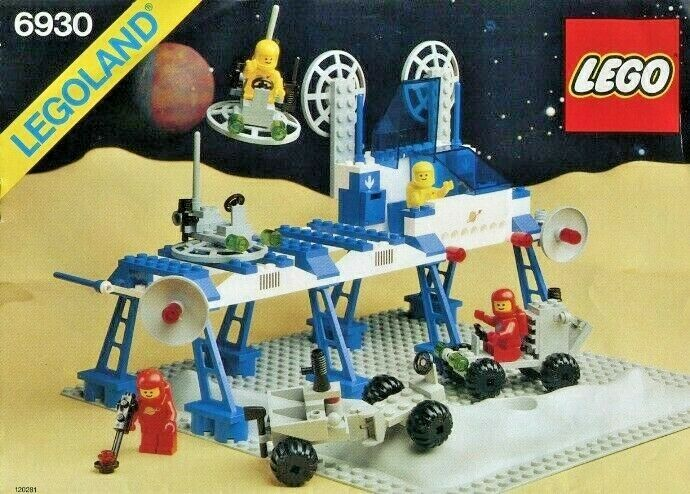 Lego Space Bundle, 6930, 6841, 6870, 6823, 6802 (Vintage), Instructions