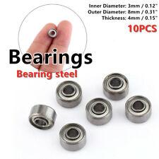 10pcs 693zz Miniature Ball Bearings 384mm Small Double Shielded Bearing