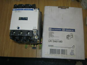 TELEMECHANIQUE// SQUARE D LP1 D4011BD// LC1D4011 CONTACTOR.18.5KW 400V 30HP 460V