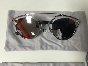1affbd4357462 Christian Dior Dior SO REAL APPDC Silver Mirror with Crystal Black ...