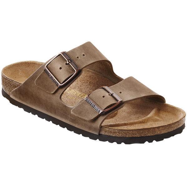 Birkenstock Arizona Nubukleder 352203 Schuhe Unisex Sandalen Braun 352203 Nubukleder Weite schmal 898f70