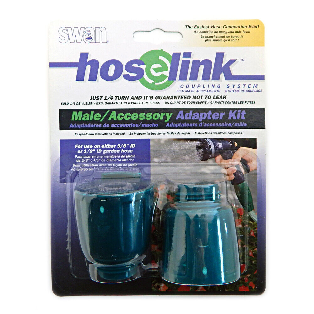 """Hose Conversion Adapter Kit 5//8/"""" Coupling Connection Garden Water Repair System"""