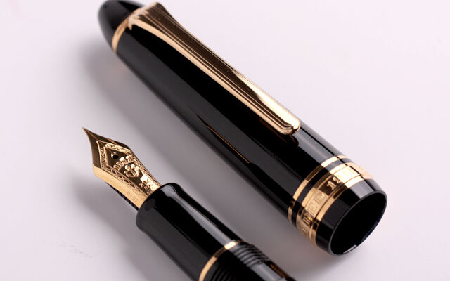 Sailor Profit 1911 Standard 21k fountain pen Fine nib Black +Converter