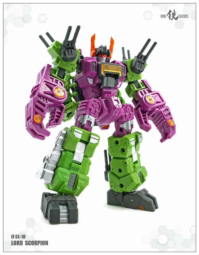 Transformers toy Iron Factory IF Megazarak EX-18 Scorpion Megazarak IF Minis figure New 1863c0