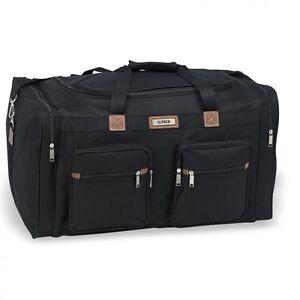 New-Hi-Pack-Travel-Duffle-Bag-18-034-22-034-25-034-28-034-Luggage-Black-amp-Navy