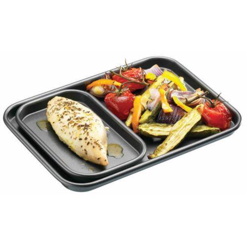 16.5cm x 10cm//6.5 x 4 inches MASTERCLASS Non-Stick Individual//Mini Baking Tray