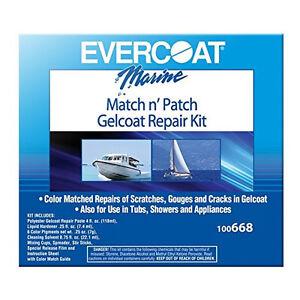EVERCOAT Match n Patch Gelcoat Repair Kit West Marine