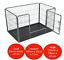 Heavy-Duty-4pc-Puppy-Play-Pen-Dog-Crate-Whelping-Box-Rabbit-Enclosure-Dog-Cage thumbnail 1