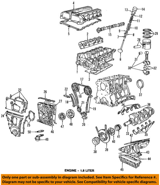 oil pump timing chain case 11141739699 m42 bmw e36 318 92 95 ebay rh ebay com  bmw e36 m42 engine diagram