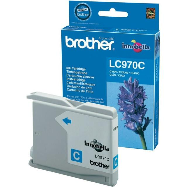 CARTOUCHE 100% NEUVE BROTHER CYAN LC-970 LC970 LC970C