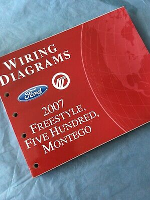 2007 FORD Freestyle Five Hundred MERCURY Montego WIRING ...