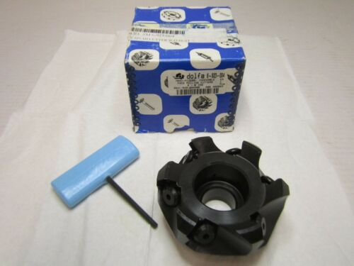 """Toolmex 6-923-004 3-6/"""" All Purpose Indexable Face Mill Right Hand Cut 9° Rake"""