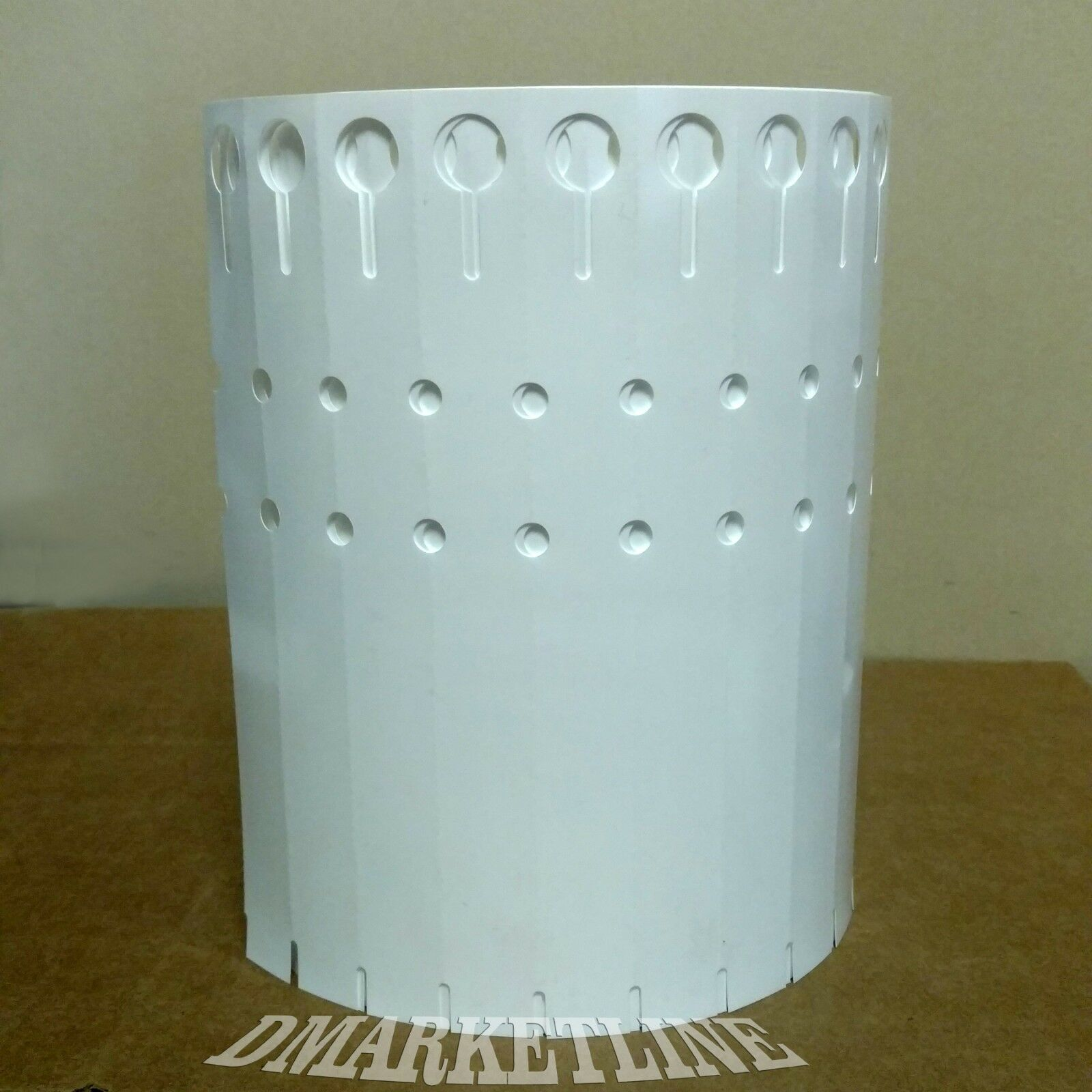 1000 etiquetas de planta térmica de plástico envolver alrojoedor de 7  X 3 4  etiquetas de bucle de árbol de Vivero