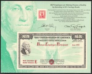 1992-BEP-U-S-Savings-Bonds-SC133-souvenir-card-SCCS-B-162