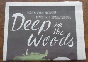 Deep in the Woods by Noah Van Sciver Newsprint Tabloid Small Press Comic