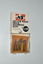 K Amp S Tips For M300 Pencil Soldering Iron 284 Set Of 4 Tips New In Package
