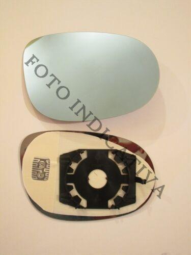 piastra vetro specchio FIAT NUOVA CROMA 05/> retrovisore DX termico blu mirror