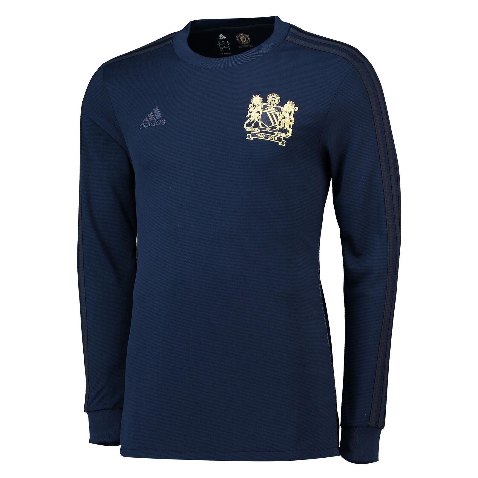 Manchester United 1968 Special Edition Fußball Trikot Sport Shirt Herren adidas