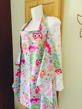 NEW  >NURSING COVER like HOOTER hider* BREASTFEEDING  Cover Apron Owls