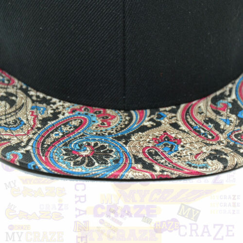 TopCul Paisley Floral Hip Hop  Snapback Cap