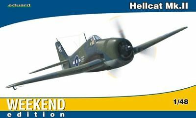 Ii Weekend Edition # 84134 Strengthening Waist And Sinews Toys & Hobbies Models & Kits Eduard 1/48 Grumman Hellcat Mk
