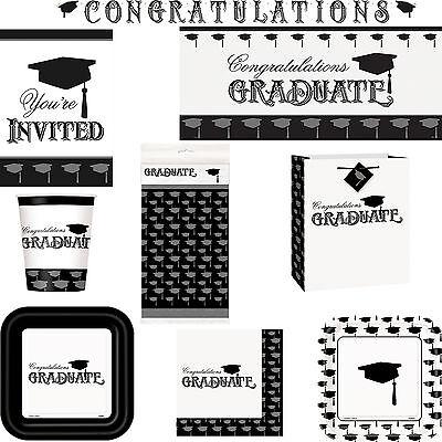 Graduation Congratulations Graduate Celebration Party Tableware And Decorations