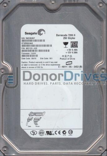PN 9BD133-620 ST3250824AS Seagate 250GB SATA 3.5 Hard Drive FW 3.AHH 5ND WU