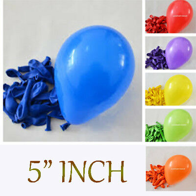 """Combination 5/"""" inch Air Fill Latex Balloons Birthday Party Event Decotex baloon"""