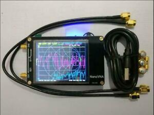 HF-VHF-UHF-UV-VNA-Vector-Network-Analyzer-Antenna-Analyzer-2-8-034-LCD-Battery-z