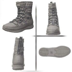 Skechers Womens Boulder Boots Grey
