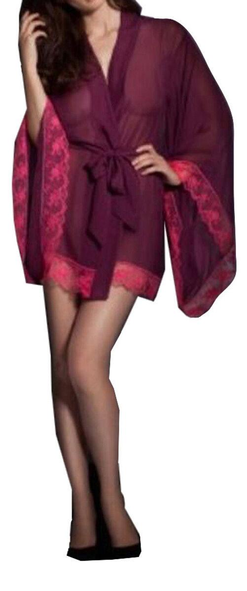 AGENT PROVOCATEUR Alessia Silk Kimono BNWT