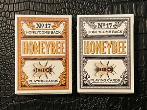 Honeybee Special Edition MetalLuxe Playing Cards Out of print Sealed