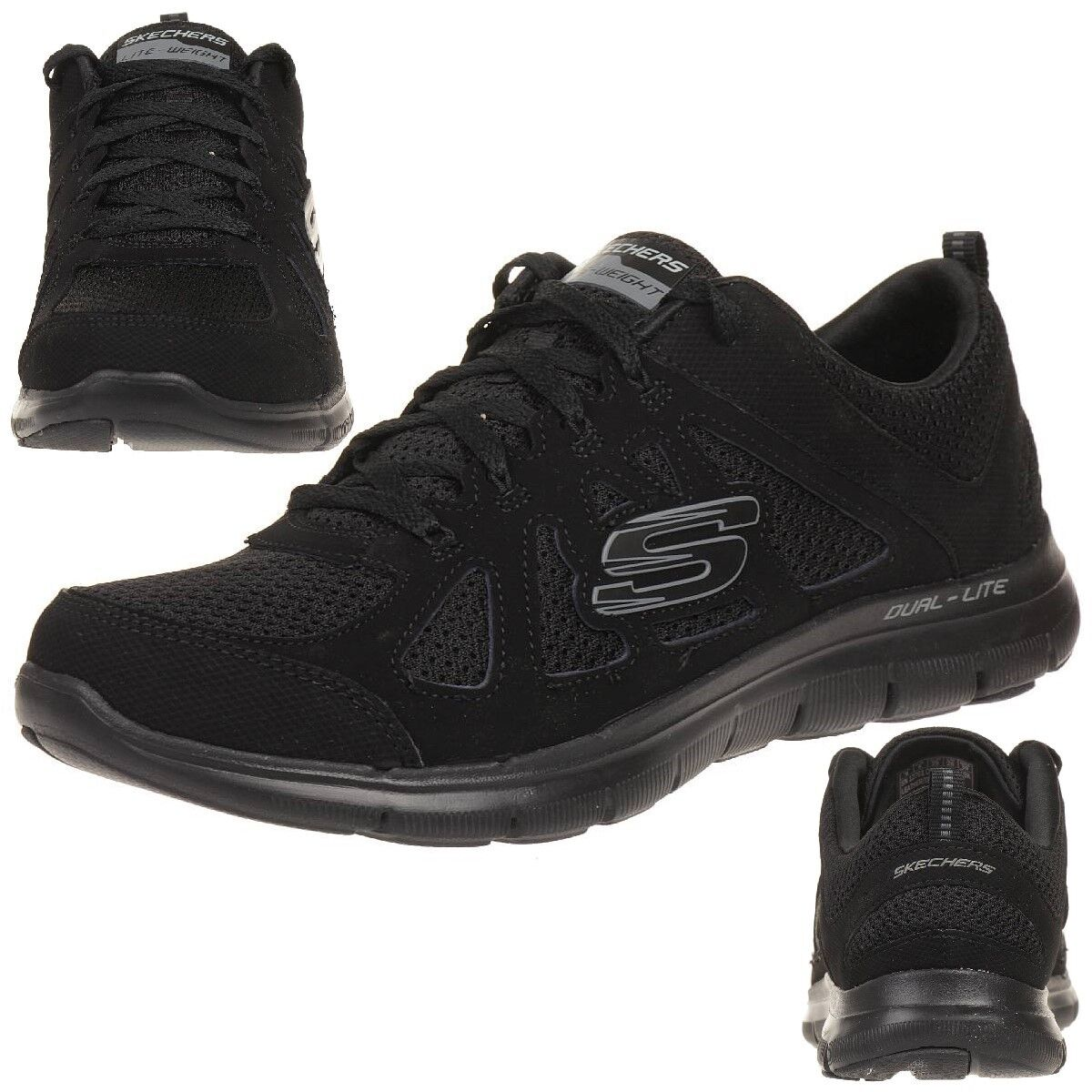 Skechers Flex appeal Lite 2.0 simplista señora fitness zapatos Lite appeal weight bbk c94429