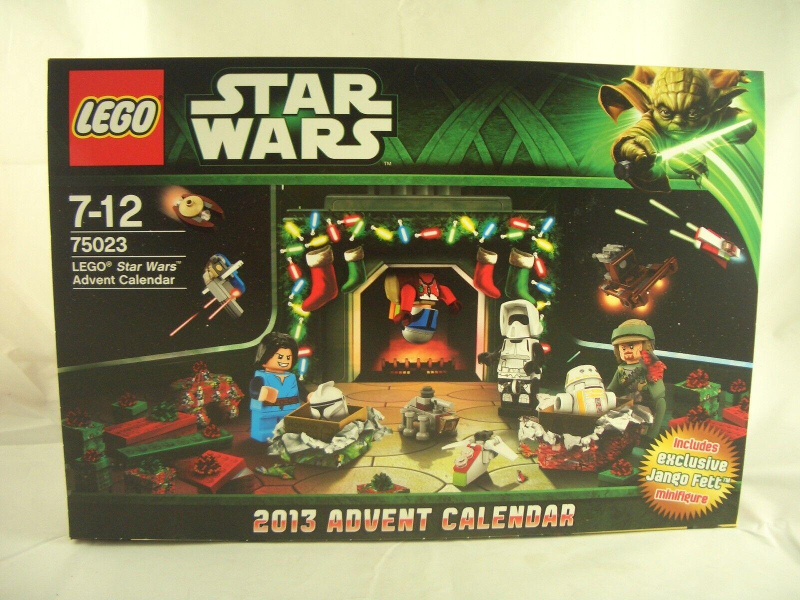 LEGO 75023 Star Wars 2013 Calendario Avvento nuovi/sigillati