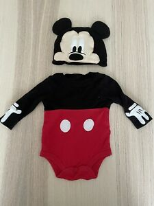 Mickey Mouse Dress Up 0-3months Disney Store Good Condition