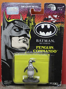 Batman Returns Penguin Commando Ertl Die-Cast Metal 1992