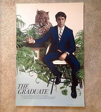 The Graduate by Rory Kurtz Rare Mondo Mondocon Exclusive Poster Print Only 325