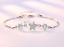 UK-Womens-Ladies-Bracelet-925-Sterling-Silver-Jewellery-Shining-Decoration-Gift thumbnail 22