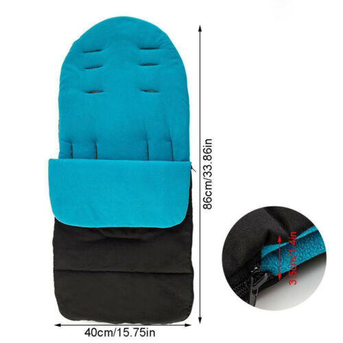 Baby Stroller Cosy Toes Liner Buggy Padded Luxury Footmuff Winter Warm KW
